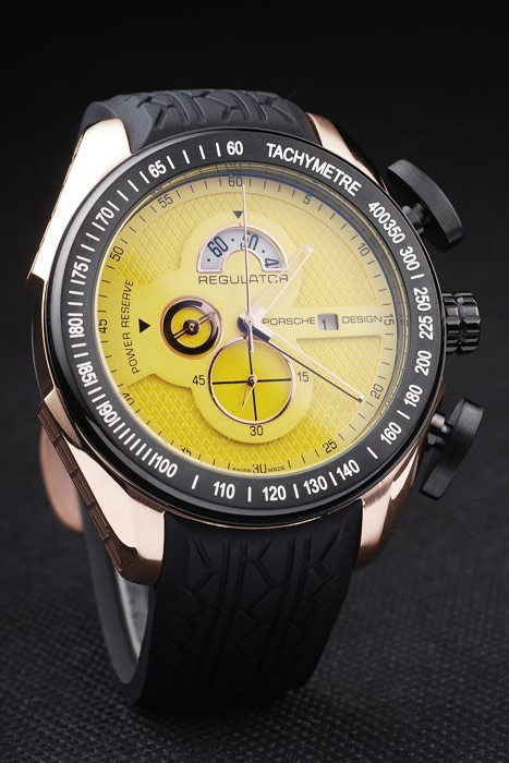 Porsche Regulator Power Reserve Alta Copia Replica Orologi 4660